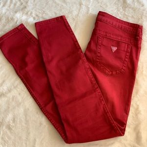 Guess Low Rise Power Skinny Jeans
